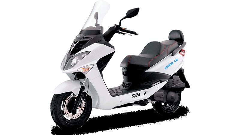 SYM Joyride 125cc Specifications | Cooltra com