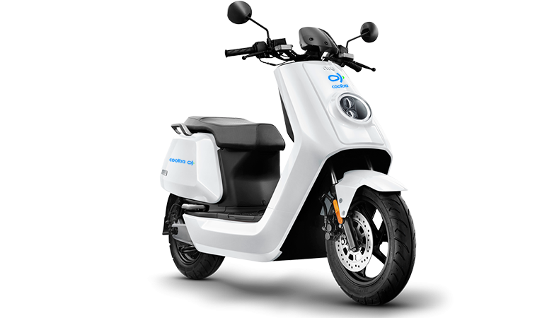 +Pizza utiliza scooters elétricas Cooltra para entregas ao